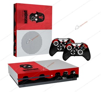 WOLFENSTEIN XBOX ONE S STICKER