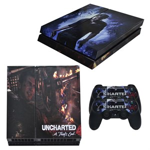 UNCHARTED PS4 STICKER SETI