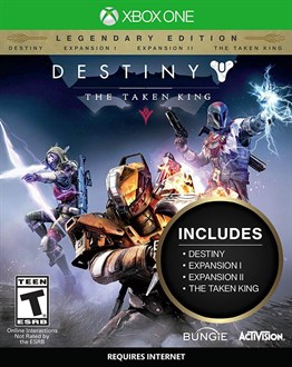 DESTINY THE TAKEN KING XB1