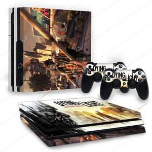 DYING LIGHT PS4 PRO STICKER