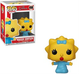FUNKO POP THE SIMPSONS MAGGIE SIMPSON NO:498 FIGURU