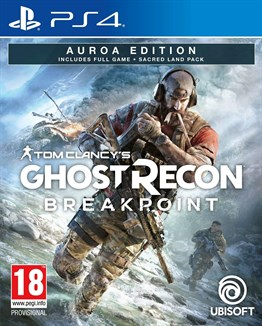 GHOST RECON BREAKPOINT AUROA EDITION PS4