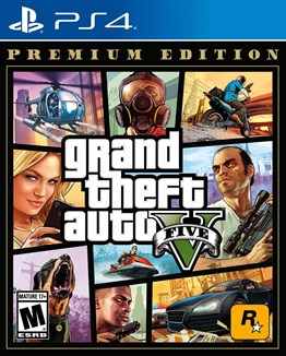 GTA 5 PREMIUM EDITION PS4