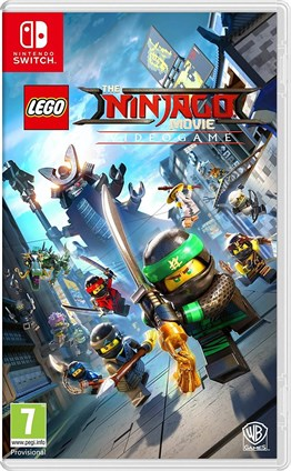 LEGO THE NINJAGO MOVIE NINTENDO SWITCH 2.EL