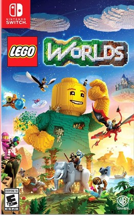 LEGO WORLDS NINTENDO SWITCH 2.EL