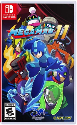 MEGAMAN 11 NINTENDO SWITCH 2.EL