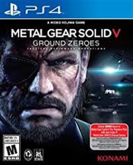 METAL GEAR SOLID 5 MGS GROUND ZEROES PS4 2.EL
