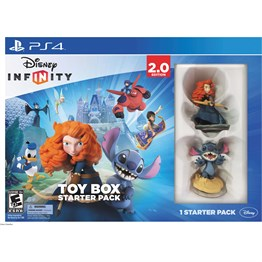 PS4 DISNEY INFINITY 2.0 ORIGINALS STARTER PACK