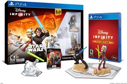 PS4 DSNEY INFINITY 3.0 STAR WARS STARTER PACK