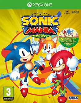 SEGA SONIC MANIA PLUS XBOX ONE