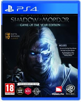 SHADOW OF MORDOR GOTY PS4 2.EL