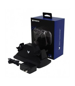 SPARKFOX PS4 CONTROLLER CHARGING STATION SİYAH
