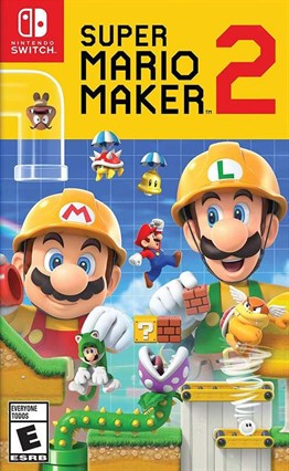 SUPER MARIO MAKER 2 Nintendo Switch 2.EL