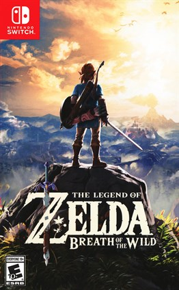 The Legend of Zelda : Breath of The Wild Nintendo Switch 2.El
