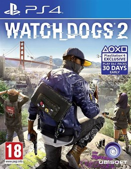 WATCH DOGS 2 PS4 2.EL