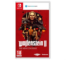 WOLFENSTEIN 2 THE NEW COLOSSUS NINTENDO SWITCH 2.EL